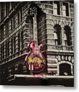 Hard Rock Philly Metal Print