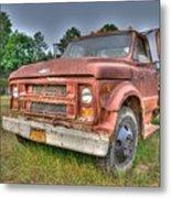 Hard Working Farm Truck Metal Print