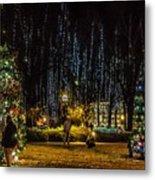 Harding Christmas Postcard Metal Print