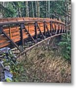 Hardy Creek Bridge Metal Print