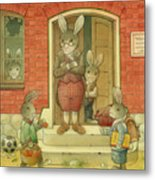 Hare School Metal Print
