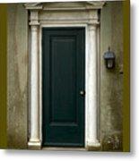 Harkness Doorway Metal Print