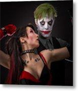 Harley And The Joker Metal Print