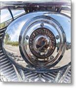 Harley Davidson Motorcycles Art Metal Print