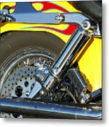 Harley-davidson Twin Cam 88 Rear Wheel Metal Print