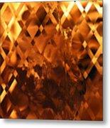 Harley Flame Metal Print
