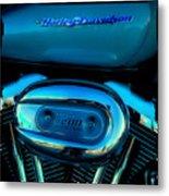 Harley Sportster 1200 Metal Print by David Patterson