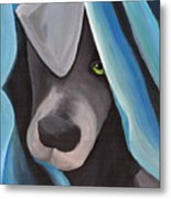 Harlow As A Puppy Metal Print