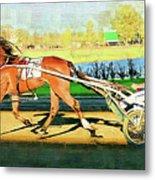 Harness Racer Metal Print