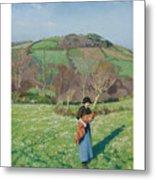 Harold Harvey 1874-1941 British Early Spring Metal Print