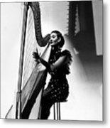 Harpist, 1935 Metal Print