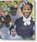 Harriet Tubman- Tears Of Joy Tears Of Sorrow Metal Print