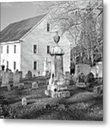 Harrington Meetinghouse -bristol Me Usa Metal Print