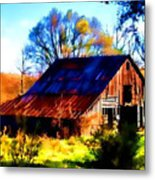 Harrison Barn Metal Print