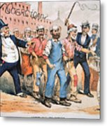 Harrison Cartoon, 1888 Metal Print
