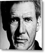 Harrison Ford Metal Print