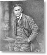 Harry Houdini Metal Print