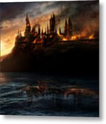 Harry Potter And The Deathly Hallows Part I 2010  Metal Print