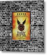 Harry Potter London Theatre Poster Metal Print