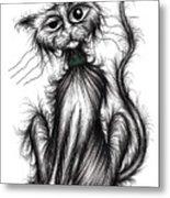 Harry The Cat Metal Print