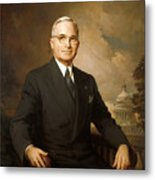 Harry Truman Metal Print