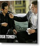 Harsh Times, Starring Christian Bale, Freddy Rodriguez And Eva Longoria Metal Print