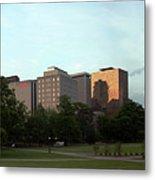 Hartford Skyline Panorama Metal Print