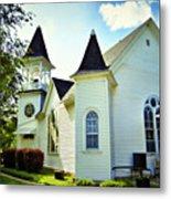 Hartsburg Baptist Church Metal Print