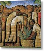 harvest, by Alfredo Ramos Martinez Metal Print
