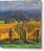 Harvest Gold Metal Print by Michael Orwick