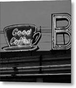 Hasbrouck Heights, Nj - Bendix Diner Metal Print