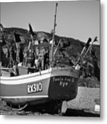 Hastings Boat 4 Metal Print