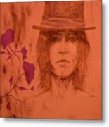 Hat Boy Metal Print