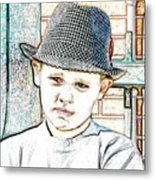 Hat Of A Hero Metal Print