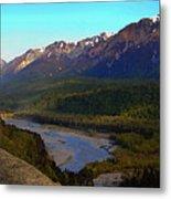 Hatcher's Pass Alaska Metal Print