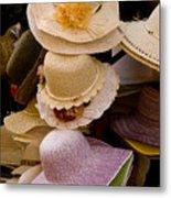 Hats Capri Italy Metal Print
