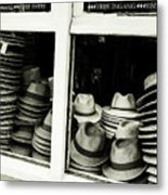 Hats Of Bruges Metal Print