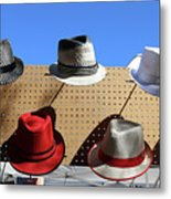 Hats Selection Day Dead  Metal Print