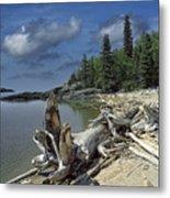 Hattie's Bay In Pukaskwa National Park Ontario Metal Print