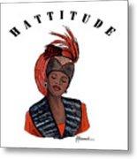 Hattitude #40 Metal Print