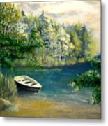 Hatzec Lake Metal Print
