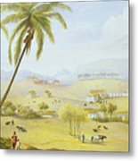 Haughton Court - Hanover Jamaica Metal Print by James Hakewill