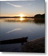 Haukkajarvi Evening Metal Print