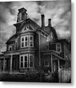 Haunted - Flemington Nj - Spooky Town Metal Print
