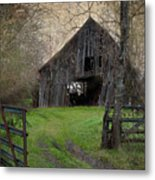 Haunted Barn Metal Print