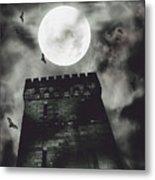 Haunted Dark Castle Metal Print