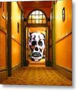 Haunted Hallway Metal Print