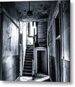 Haunted Hallway Metal Print