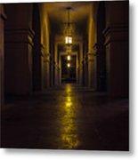 Haunted Hallways Metal Print
