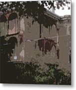Haunted House Esplanade Metal Print